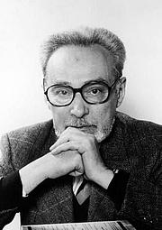 Author photo. Primo Levi en 1978