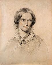 Författarporträtt. Portrait by George Richmond