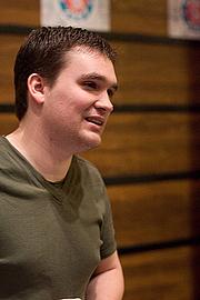 Author photo. Tom Siddell, UK webComix Thing 2007, London.  Photo by Adam Hodgson / Flickr.