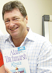 "Author photo. Alan Titchmarsh at a Border's book signing By Phil Guest <a href=""http://www.flickr.com/photos/philip-rosie"" rel=""nofollow"" target=""_top"">http://www.flickr.com/photos/philip-rosie</a> (cropped by Heligoland) [CC-BY-SA-2.0 (<a href=""http://www.creativecommons.org/licenses/by-sa/2.0"" rel=""nofollow"" target=""_top"">www.creativecommons.org/licenses/by-sa/2.0</a>)], via Wikimedia Commons"