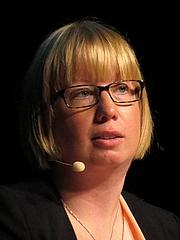 Författarporträtt. Kristina Ohlsson (2014)<br>Photo: Volger