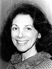 Author photo. Sarah Pomeroy in the 1980s via Society for Classical Studies