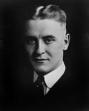 Författarporträtt. F. Scott Fitzgerald Papers, Manuscripts Division, <br>Dept. of Rare Books and Special Collections, <br>Princeton University Library <br>(photo courtesy of Princeton University)