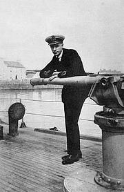 Author photo. Image from <b><i>Pushing Water</i></b> (1918) by Eric Powell Dawson