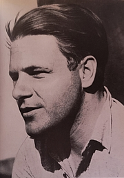 Author photo. The Freedom of Poetry, Derek Stanford Falcon Press, 1947