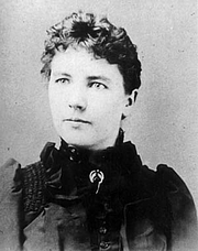Author photo. Laura Ingalls Wilder