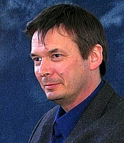 Author photo. Ian Rankin foto by Tim Duncan
