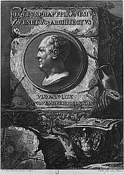Author photo. Giovanni Battista Piranesi