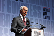 "Author photo. Library of Congress Prize for American Fiction winner Richard Ford speaks on the National Book Festival Main Stage, August 31, 2019. Photo by Shawn Miller/Library of Congress. By Library of Congress Life - 20190831SM0227.jpg, CC0, <a href=""https://commons.wikimedia.org/w/index.php?curid=82899183"" rel=""nofollow"" target=""_top"">https://commons.wikimedia.org/w/index.php?curid=82899183</a>"