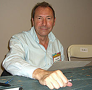 Author photo. David Lloyd at 2008 Big Apple Con