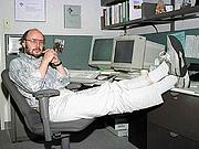 Kirjailijan kuva. Photo of Bjarne Stroustrup, creator of the programming language C++.