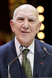 Author photo. Stéphane Hessel, 2010. Photo by Marie-Lan Nguyen / Wikimedia Commons.