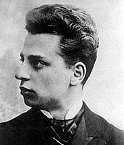 Kirjailijan kuva. Rainer Maria Rilke