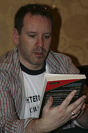 """Author photo. Gallifrey One 2008, photo by <A HREF=""""http://www.flickr.com/people/pinguino/"""">pinguino k</A>"""