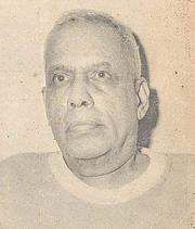 Kirjailijan kuva. Varghese Nijeeb P.