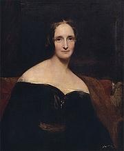 Författarporträtt. Portrait by Richard Rothwell (c.1840)