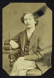 "Author photo. Courtesy of the <a href=""http://digitalgallery.nypl.org/nypldigital/id?484075"">NYPL Digital Gallery</a> (image use requires permission from the New York Public Library)"