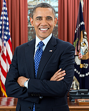 Author photo. President Obama, December 6, 2012 in an Official White House Photo by Pete Souza