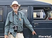 Author photo. John Marshall in Nagaland (photographer Christian Schicklgruber)