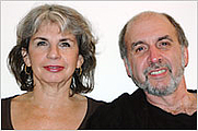 Author photo. Nancy Davidoff Kelton with husband Jonathan Zich