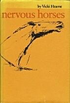 Nervous Horses (University of Texas Press…