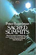 Sacred Summits by Peter Boardman