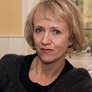 Author photo. Virginia Nicholson