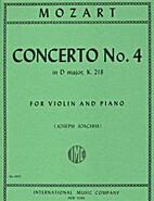Mozart W.A. Concerto No. 4 in D Major K. 218…