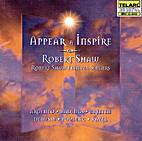 Appear & inspire by Shaw Festival Singers