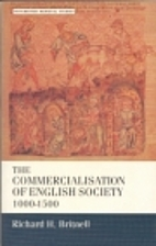 The Commercialisation of English Society,…