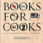 Books for Cooks: From the Collection of…