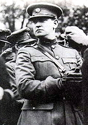 Author photo. Michael Collins, Irish leader (1890-1922)  Photo from 1922 shortly before his death
