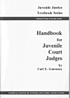 Handbook for Juvenile Court Judges by Carl…