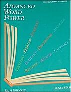 Advanced Word Power by Beth Johnson
