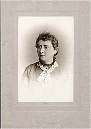 Author photo. Full Title: Portrait of Isabella Valancy Crawford Material Type: photograph Era: 1840-1918