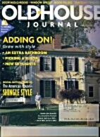 The Old-House Journal. Vol. XXVII No. 4…