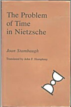 The Problem of Time in Nietzsche by Joan…