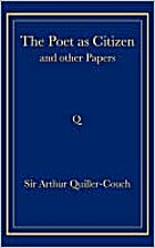The Poet as Citizen and Other Papers by…