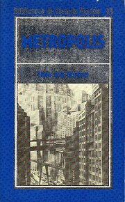 Metrópolis by Thea von Harbou