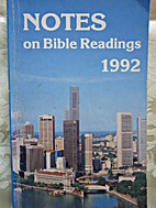 Notes on Bible Readings 1992 by…