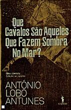 Paardenschaduw op zee by António Lobo…