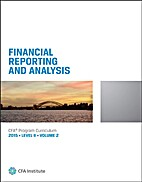CFA Level II 2015: Volume 2 -- Financial…