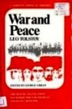 War and Peace [Norton Critical Edition] by…
