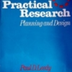 Practical Research Planning And Design By Paul D Leedy Librarything