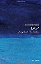 Law: A Very Short Introduction by Raymond…