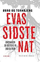 Evas sidste nat by Jeanette Øbro…