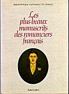Les Plus beaux manuscrits des romanciers…