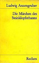 Die Märchen des Steinklopferhanns by…