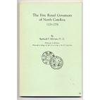 The five royal Governors of North Carolina,…