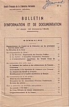 Bulletin d'Information et de Documentation…